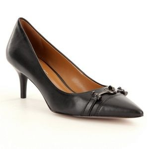 Coach Lauri Pointed Toe Kitten Heels